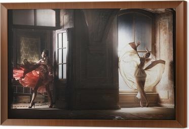 59f19969 Kunstfoto af sort engel i isoleret rum Plakat • Pixers® - Vi lever for  forandringer
