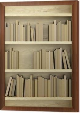 Fotobehang Boekenkast vol boeken • Pixers® - We leven om te veranderen