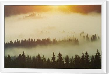 Ingelijst Canvas Forest
