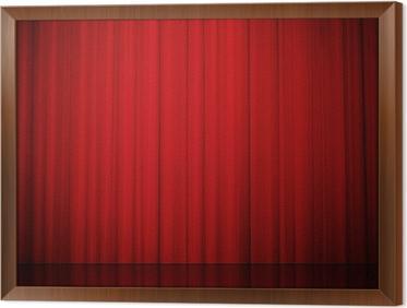 Fotobehang Gordijnen spektakel bioscoop en theater • Pixers® - We ...