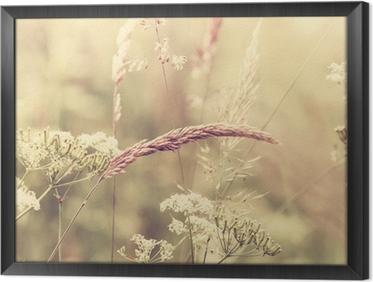 Ingelijst Canvas Summer Meadow