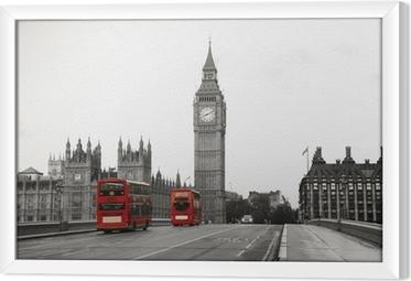 Ingelijst Canvas Westminster Palace
