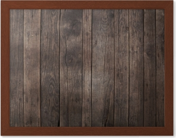 Donkere Vintage Woonkamer : Poster oude vintage donkere bruine houten planken achtergrond