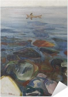 Edvard Munch - Vene on the Sea Itsestäänkiinnittyvä juliste