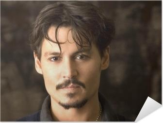 Johnny Depp Itsestäänkiinnittyvä juliste