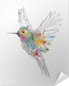 Kolibri Itsestäänkiinnittyvä Juliste