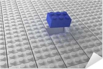 Lego tausta bw Itsestäänkiinnittyvä juliste