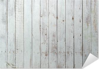 Musta ja valkoinen tausta puinen lankku Itsestäänkiinnittyvä Juliste