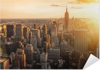 New York Itsestäänkiinnittyvä Juliste