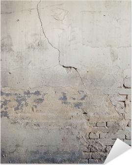 Seinän tausta Itsestäänkiinnittyvä Juliste