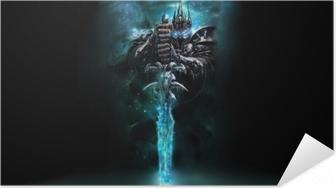 World of Warcraft Itsestäänkiinnittyvä juliste