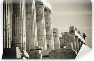 Kreikkalaiset sarakkeet Itsestäänkiinnittyvä valokuvatapetti