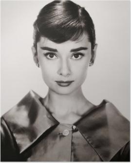 Audrey hepburn Juliste