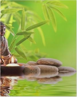 Buddha zen Juliste
