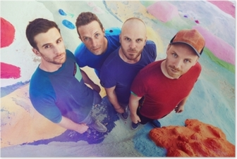 Coldplay Juliste