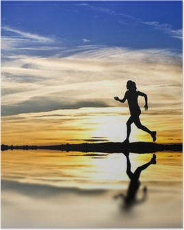 Corriendo por la orilla del lago Juliste