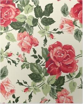 Fancy rose wallpaper Juliste