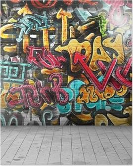 Graffitit seinään Juliste