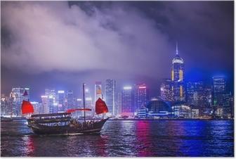 Hong Kong Kiina Juliste