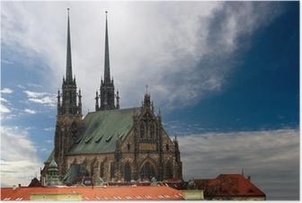 Katedraali petrov brno Juliste