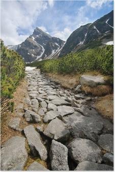 Kiillottaa Tatra-vuoria Juliste