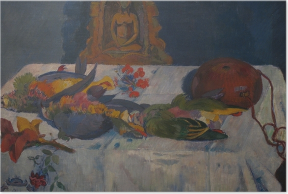 Paul Gauguin - Asetelma Papukaijat Juliste -
