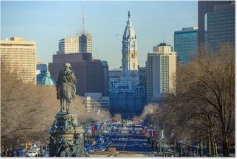 Philadelphia skyline Juliste