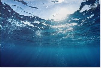 Sininen meri Juliste