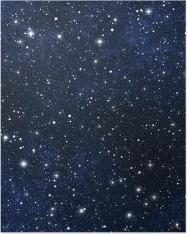 Tähti täynnä yötaivasta Juliste