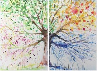 Neljän kauden puu Kaksiosainen