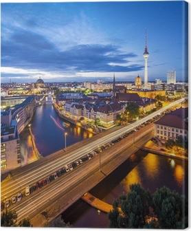 Berlin, saksa skyline kohtaus Kangaskuva