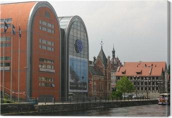 Bydgoszcz - keskustassa Kangaskuva