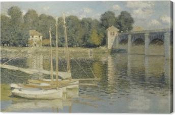 Claude Monet - Bridge at Argenteuil Kangaskuva