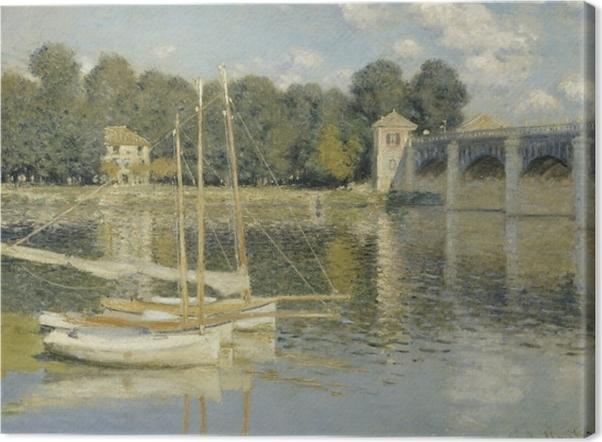 Claude Monet - Bridge at Argenteuil Kangaskuva -