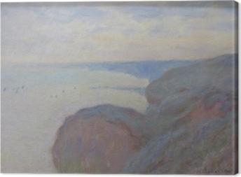 Claude Monet - Steef Cliffs lähellä Dieppe Kangaskuva