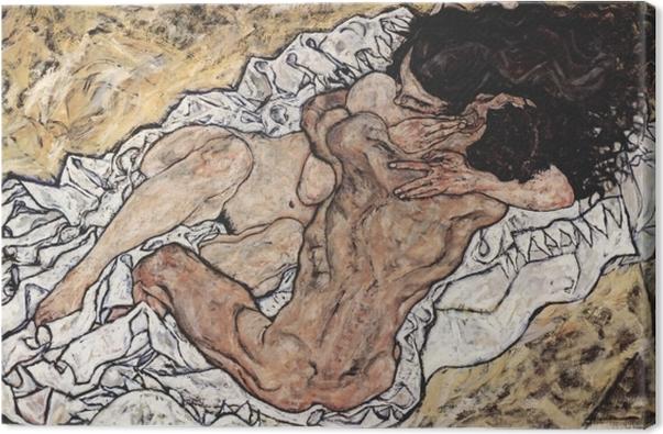 Egon Schiele - Omaksua Kangaskuva -