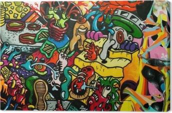 Graffiti art urbain Kangaskuva