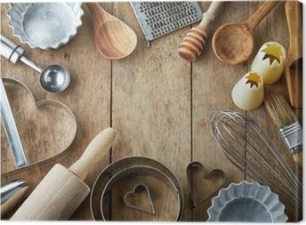 Keittiökalusteita Kangaskuva