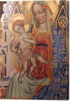 Madonna lapsen kanssa Kangaskuva