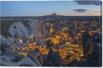 Maiseman cappadocia, kalkkuna Kangaskuva