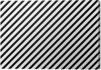 Mustavalkoinen lävistäjä raidallinen kuvio toista taustaa Kangaskuva