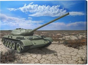 Neuvostoliiton säiliö t-54 vuodelta 1946 Kangaskuva