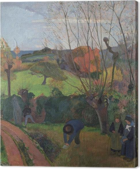 Paul Gauguin - The Willows Kangaskuva -