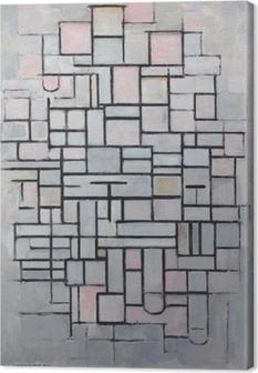 Piet Mondrian - Koostumus nr 4 Kangaskuva