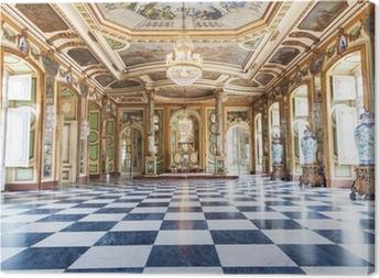 Suurlähettiläiden sali, sellauz national palace, portugalissa Kangaskuva