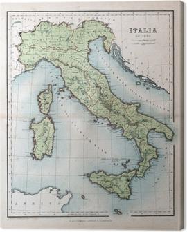 Keskiaikainen Kartta Sisilia Kangaskuva Pixers Elamme Muutoksille