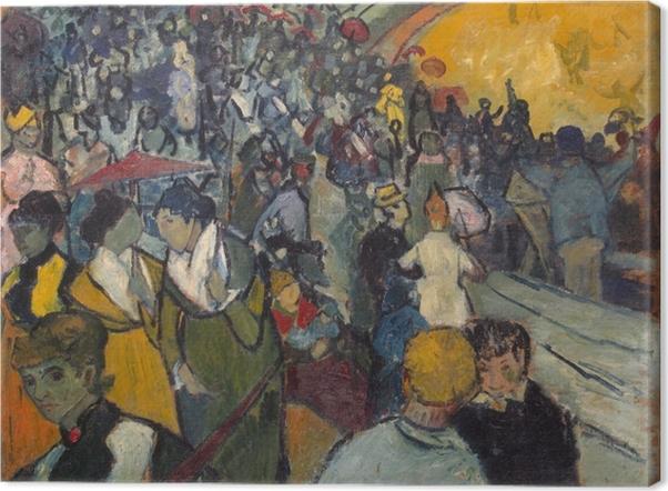 Vincent van Gogh - Arena Arles Kangaskuva - Reproductions