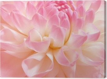 Hieno ruusuinen kukka Kangastuloste