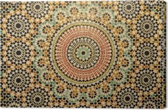 Itämainen mosaiikki sisustus Marokossa Kangastuloste