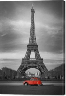 Kiertue eiffel et voiture rouge-paris Kangastuloste